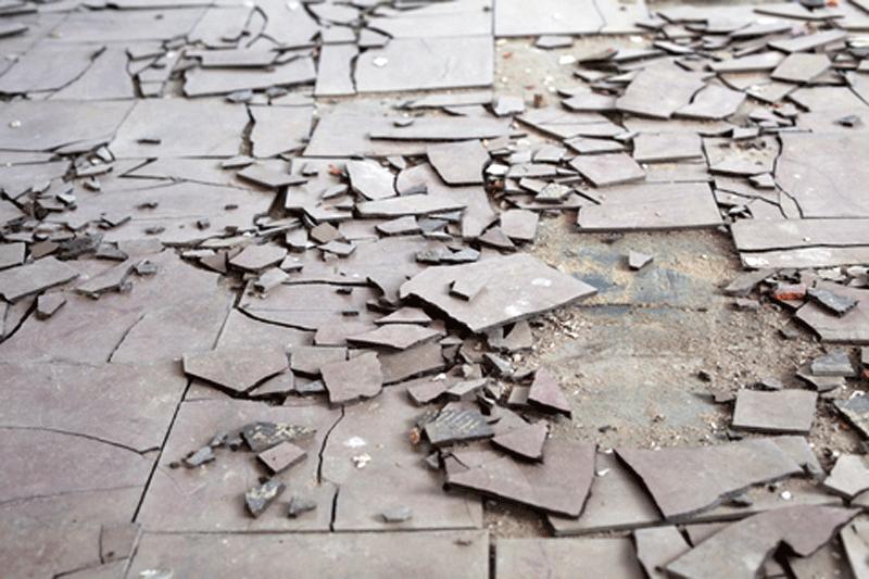 Hazards in the homes asbestos awareness for Vinyl flooring dangers