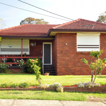 Traditional Suburban Brick Home - asbestos may be found under eaves, in bathrooms, laundries, kitchens and under flooring (carpet underlay, vinyl tiles or sheeting, wall and floor tiles), roofing and electrical power boxes etc.