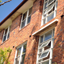 Australian Block of Flats - asbestos can be found in the eaves (pictured), bathrooms, kitchens, under floor coverings etc.