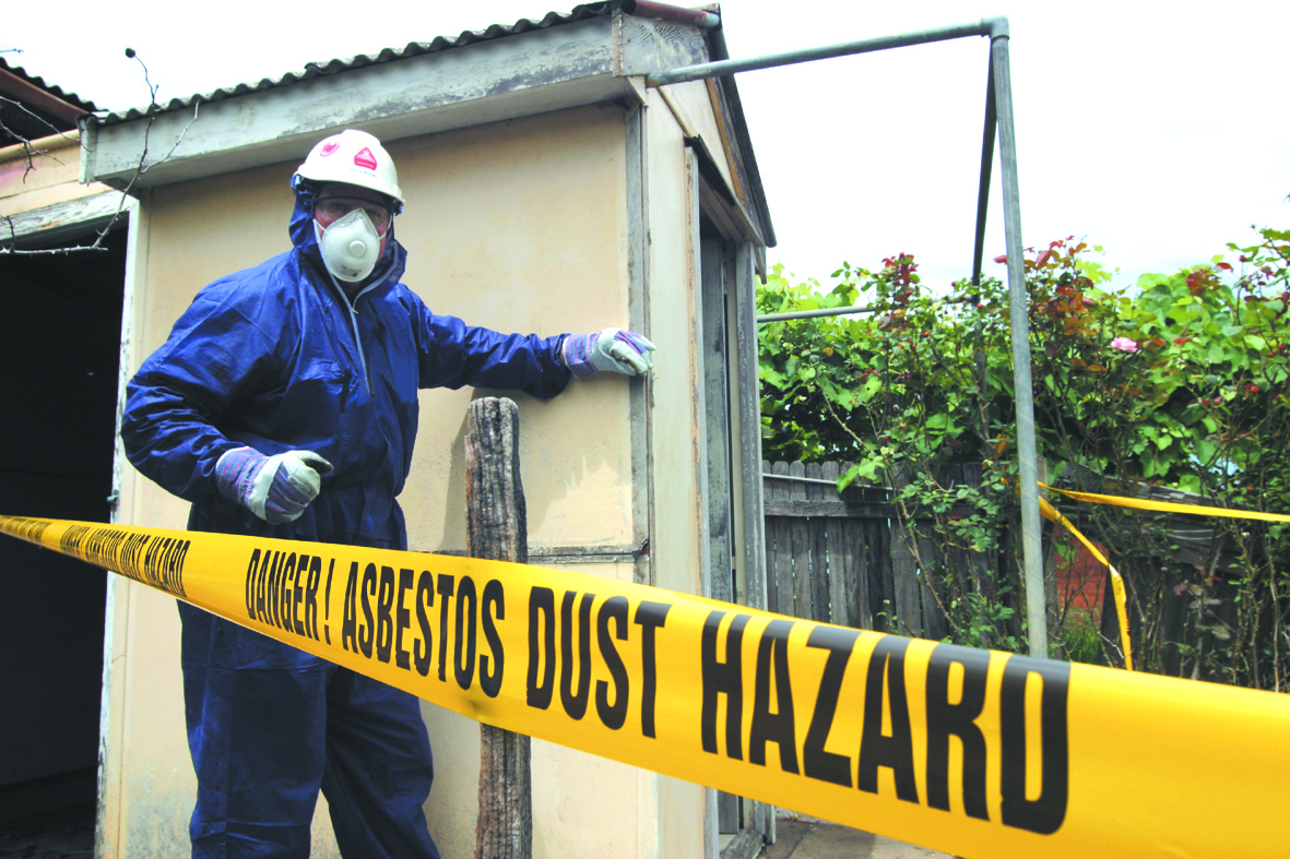 the hazards of using asbestos in construction Asbestos is a commercial name, not a mineralogical definition, given to a variety of six naturally occurring fibrous minerals these minerals possess high tensile strength, flexibility, resistance to chemical and thermal degradation, and electrical resistance.