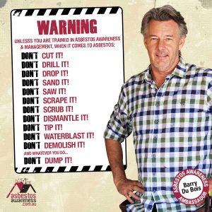 Barry Du Bois Asbestos Warning