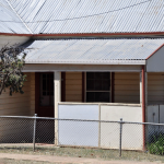 Weatherboard Cottage - asbestos may be found in verandas (pictured), bathrooms, laundries, kitchens and under flooring (carpet underlay, vinyl tiles or sheeting, wall and floor tiles) and electrical power boxes etc.